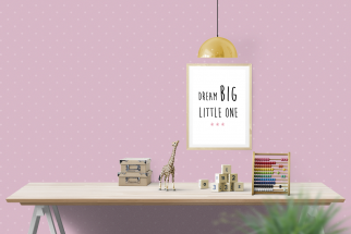 Poster Dream Big Little One