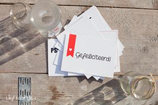 Postkaarten set