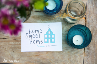 Verhuiskaart | Home Sweet Home