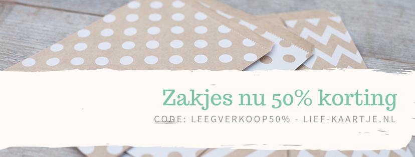 Zakjes banner