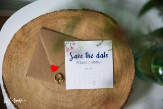Save the date met kalender
