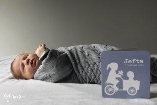 Geboortekaart voor broertje
