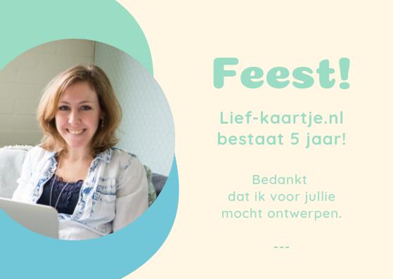Lief-kaartje.nl bestaat 5 jaar